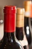 Красное уплотнение немеченого вина Стоковая Фотография