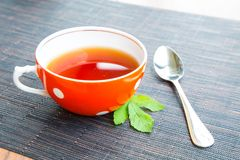 Красное чашек чаю Стоковое Изображение RF