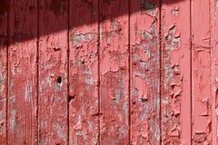 Красное шелушение siding амбара Стоковое Изображение RF