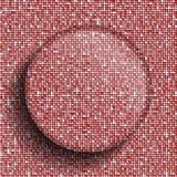 Красное backgeound sequins красный цвет поднял иллюстрация вектора