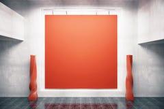 Красное frontview доски Стоковые Фото