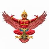 Красное Garuda Стоковое Изображение