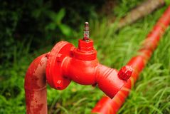 Красное hidrant Стоковое Изображение RF