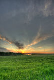 красное River Valley Стоковые Фото