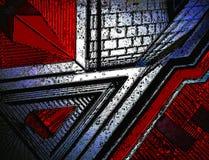 Красное Scape Стоковое Изображение RF