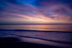 красное sky12 Стоковые Изображения RF
