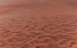 Красное villiage Ne Mui песчанных дюн, Вьетнам Стоковое фото RF