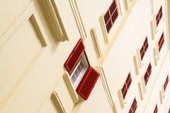 Красное Windows ексцентрик Стоковое Изображение RF