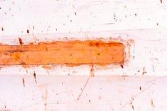 Краснокоричневая и оранжевая предпосылка конспекта краски Стоковое фото RF