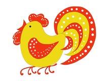 Красно-желтые горохи петуха Стоковое Изображение RF