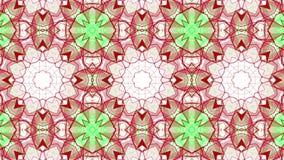 Красно-зеленая оживленная абстрактная предпосылка E видеоматериал