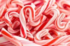 Красно и белизны Stripes предпосылка Стоковое фото RF