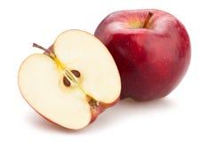 Красно- очень вкусное яблоко Стоковое Изображение