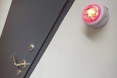Красно-светлый Стоковое фото RF
