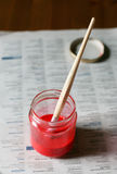 красно Стоковые Фотографии RF
