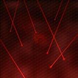 Красные лазеры бесплатная иллюстрация