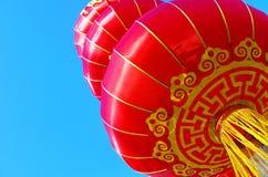 Красные лампы chinses Стоковая Фотография