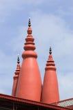 красные башни Стоковое фото RF