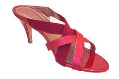 красные ботинки Стоковые Изображения RF