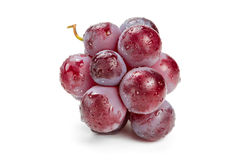 Красные виноградины в падениях воды Стоковое фото RF