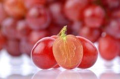 Красные виноградины Стоковые Изображения RF