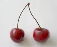 Красные вишни Стоковое Фото