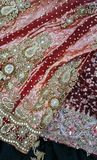 Красные вуали Стоковые Фото