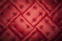 Красные глянцеватые cushons Стоковое Изображение RF