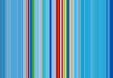 Красные голубые линии и контрасты в синих золотых оттенках Стоковая Фотография RF