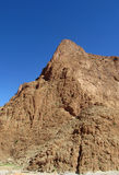 Красные горы атласа утеса в Марокко Стоковое фото RF
