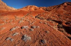Красные горы пустыни стоковые фотографии rf