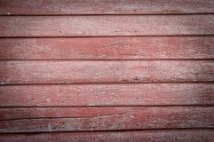 Красные деревянные предпосылки Стоковая Фотография