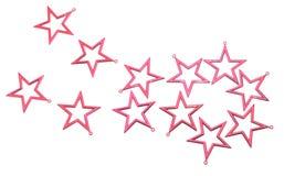красные звезды Стоковое Изображение
