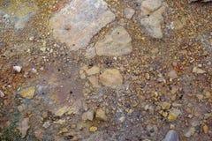Красные земля и камни стоковое фото