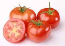 красные зрелые томаты Стоковое Фото