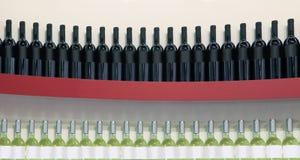 Красные и белые вина Стоковые Изображения RF