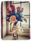 Красные и желтые розы Стоковые Изображения RF