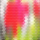 Красные и зеленые этапы предпосылки Стоковая Фотография RF