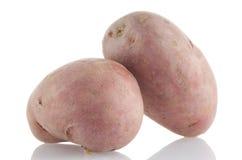 Красные картошки стоковая фотография