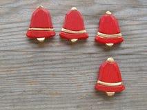 Красные колоколы Стоковое Фото