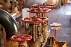 красные колеса Стоковое Фото