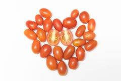 красные малые томаты Стоковая Фотография