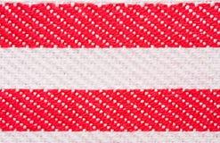 красные нашивки Стоковые Фото