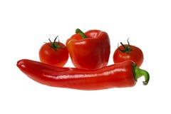 красные овощи Стоковые Изображения RF