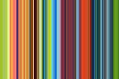 Красные оранжевые голубые линии и контрасты в синих золотых оттенках Стоковая Фотография RF