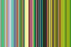 Красные оранжевые зеленые голубые линии и контрасты в синих золотых оттенках Стоковые Изображения