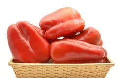 Красные перцы Стоковая Фотография RF
