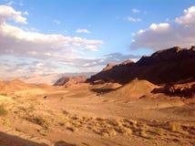 Красные песчаники в парке Timna Стоковая Фотография