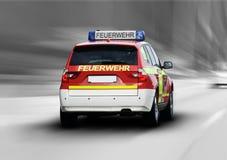 Красные пожарные Стоковая Фотография RF