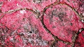 Красные пятна на грязных стенах стоковое изображение
